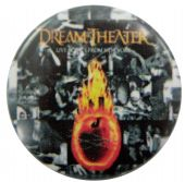 Dream Theater - 'Lives Scenes from New York' Button Badge